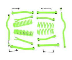 Fits Jeep Wrangler Jk Neon Green Suspension Lift Kits Made In Usa J0047801