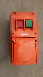 Wsc120, Ring-grip Machine Round 4 Pin Socket W/ On Off Switch | 20a | 250v New
