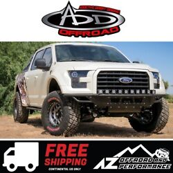 Add Race Series R Front Bumper Black For 2015-2017 Ford F150 Truck