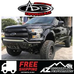 Add Stealth R Front Bumper Black For 2015-2017 Ford F150 Truck