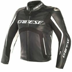 Dainese Misano D-air Leather Motorcycle Jacket Size 52