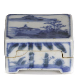 Chinese Chenghua Mark Porcelain Incense Container