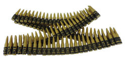 Plastic Toy Fake Ammo Bullet Belt Bandolier Military Army Soldier Costume Prop