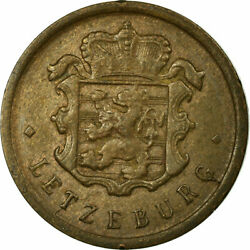 [697870] Coin, Luxembourg, Charlotte, 25 Centimes, 1946, Ef40-45, Bronze
