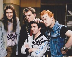 N. Planer C. Ryan A. Edmondson Hand Signed 8x10 Photo Autograph The Young Ones B