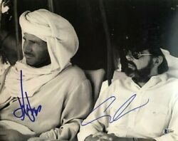 George Lucas Harrison Ford Signed Autographed 11x14 Photo Indiana Jones Beckett