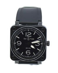 Bell And Ross Aviation Ceramic Stainless Steel Watch Br01-92