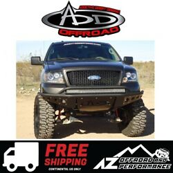 Add Stealth Front Bumper Black For 2004-2008 Ford F150 4x4 Truck