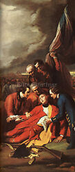 Benjamin West West10 Artist Painting Reproduction Handmade Oil Canvas Repro Wall