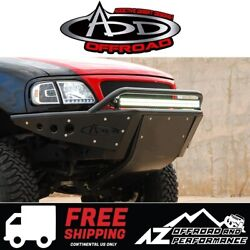 Add Stealth Front Bumper Black For 1997-2003 Ford F150 4x4 Truck