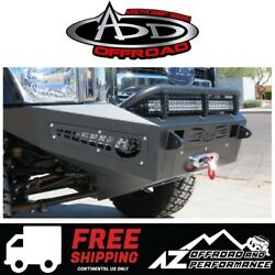 Add Honeybadger Front Winch Bumper For 11-16 Ford Super Duty F250 F350