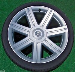 Factory Chrysler Crossfire Wheels New Tires 2004 To 2007 Perfect Set Genuine Oem