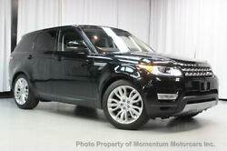 2016 Land Rover Range Rover Sport 4WD 4dr V6 HSE 4WD 4dr V6 HSE FRONT CLIMATE COMFORT AND VISIBILITY VISION AND CONVENIENCE PACK