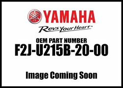 Yamaha Motors 2014-2016 212x 212x Support Blk Chrome F2j-u215b-20-00 New Oem