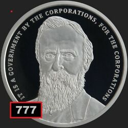 2019 1 Oz Proof Rutherford B Hayes 19 Silver Shield Group Ssg Sbss 777 Potus