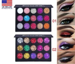15Colors Matte Eyeshadow Makeup Kit Shimmer Glitter Eye Shadow Powder Palette US $6.99