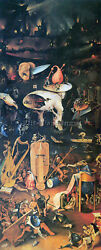 Bosch The Garden Of Delights Hell Artist Painting Reproduction Handmade Oil Deco