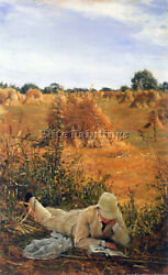 Alma-tadema 94 Degrees In The Shade Artist Painting Reproduction Handmade Oil