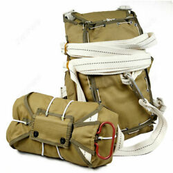 World War Ii Us Army Airborne Paratrooper T-5 Parachute Backpack D-day Normandy