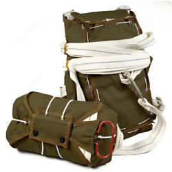 World War Ii Us Army 101st Airborne Paratrooper T-5 Parachute Backpack Od