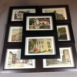 Collectors Lot Of 8 Vintage Winchester Virginia Postcards