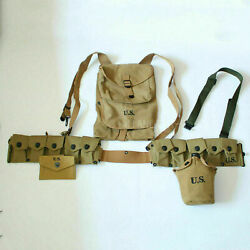 World War Ii Military Us Army Soldier Field First Aid Pouch 1928 Haversack Gear