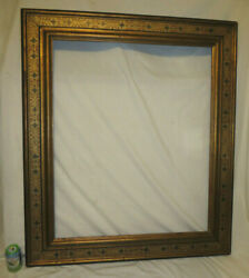 C.1920andrsquos Newcomb Macklin Arts And Crafts Decorated Gilded Frame Fits 30x36