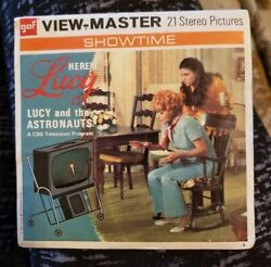 Lucille Ball B588 Lucy And The Astronauts Tv Show Viewmaster Reels Showtime Packet