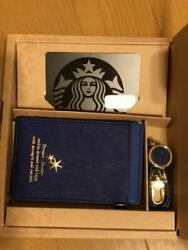 Starbucks Afternoon Tea Collaboration Card Case Blue From Japan rare Collection