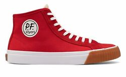 PF Flyers Center Hi Unisex Shoes Red Size
