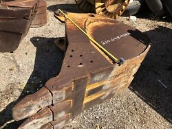 """Central Mfg John Deere 24"""" Pin On Bkt Used 230clc Trenching T400 Teeth Utility"""