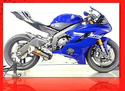 Graves 06-18 Yamaha R6 Full Titanium - Carbon Works 7 Exhaust Exy-18r6-ftcw7