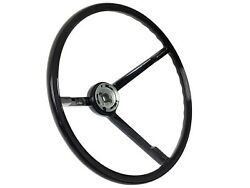 1963 - 1964 Ford Galaxie Oe Style Reproduction Black Steering Wheel
