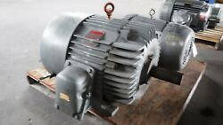 60 Hp General Electric Ac Electric Motor 1200 Rpm Fr 404t Tefc Exp 230/460 V New