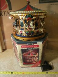 Mr Christmas Holiday Musical Merry Go Round. 42 song carousel Target exc.