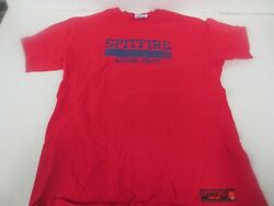 VTG Spitfire Wheels Arson Dept Skateboarding T Shirt Tagged Hanes M Made In USA