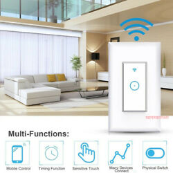 Smart Switch Wall Light Wifi Remote For Alexa And Google Ifttt Control Smart Life