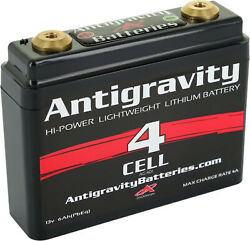 Antigravity Batteries Lithium Ion Motorcycle Battery 120 Cca 4-cell 12v Ag-401