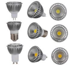 Dimmable LED Spotlight MR16 E27 GU10 15W COB-A Lights Bulb
