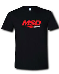MSD Ignition Logo Coils Holley Performance Products Black T-shirt S M L XL 2XL