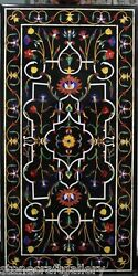 48 X 24 Marble Dining Table Top Pietra Dura Inlay Art For Home Decor And Gift