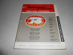 1978 200 Hp Genuine Johnson Evinrude Outboard Repair And Service Manual 235 Hp