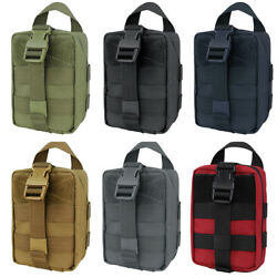 Condor Tactical Rip-away Emt Lite First Aid Kit Medical Ifak Airsoft Molle Pouch