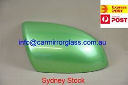 MIRROR HOUSE COVER CAP FOR MAZDA 2 2008 2014 RIGHT DRIVER SIDE GREEN