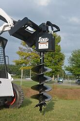 Bobcat Skid Steer Attachment Lowe 750 Classic Round Auger With 18 Bit Ship 199
