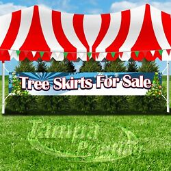 TREE SKIRTS FOR SALE Advertising Vinyl Banner Flag Sign LARGE XXL SIZE CHRISTMAS