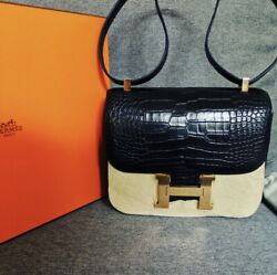 Brand New Hermes Alligator skin Constance 24; 100% Authentic With Passportproof