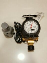 Elster C700 Invision Water Meter 5/8 X 3/4 Bronze Valve With Encoder 1-d