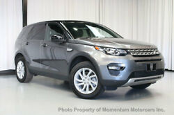 2016 Land Rover Discovery Sport AWD 4dr HSE AWD 4dr HSE THIRD ROW SEATS DRIVER ASSIST PLUS CLIMATE COMFORT PACKAGE SUV Aut