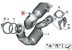 Genuine Bmw Z4 Roadster Exch Catalytic Converter Close To Engine 18307647041